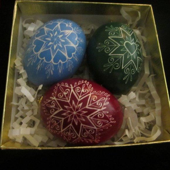 Handmade Ornaments by artist from Prague